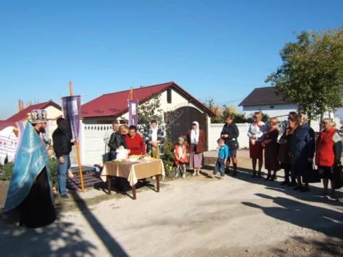 Hramul satul. Goianul Nou