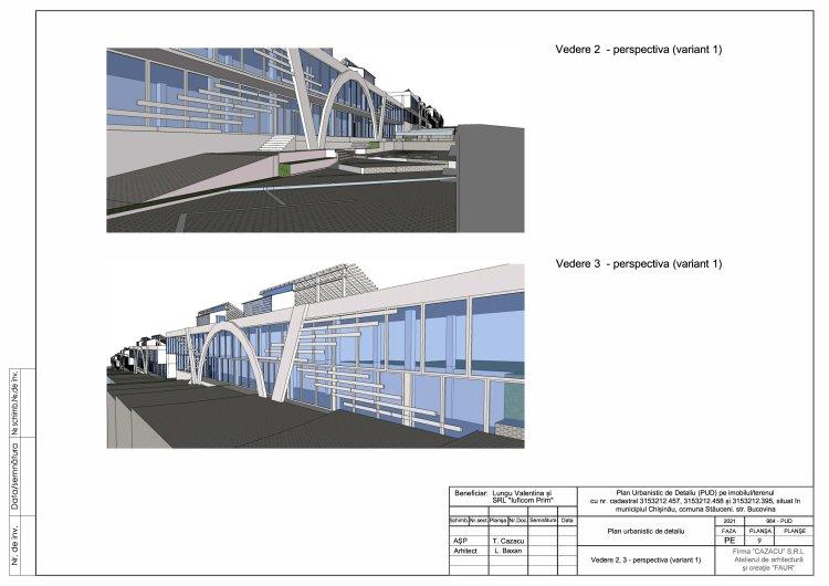 ANUNȚ privind consultarea publică a PUD-ului privind edificarea a patru construcții cuplate cu destinație comercială.