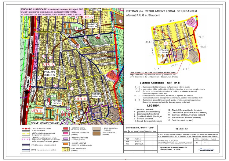 ANUNȚ privind consultarea publică a Studiului de justificare, în vdederea inițierii Planului Urbanistic Zonal (PUZ).