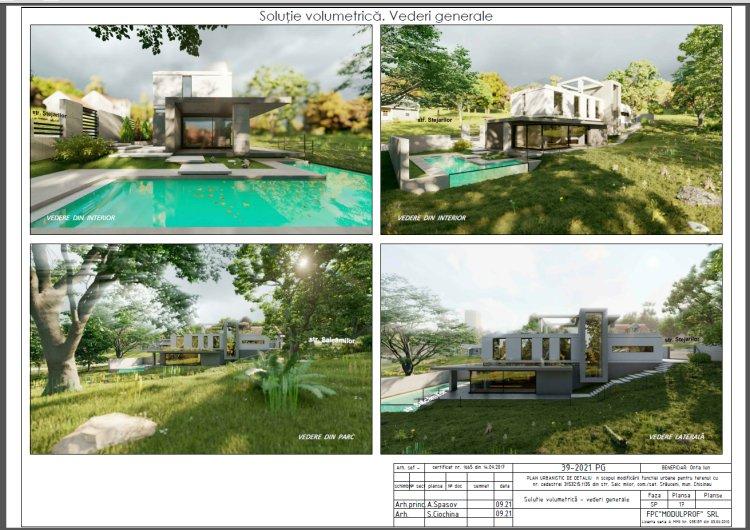 ANUNȚ privind consultarea publică a PUD-ului privind edificarea  unei case de individuale locuit.