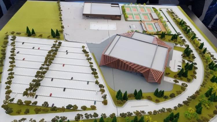 Lansarea lucrărilor de construcții al Chișinău Arena 14 octombrie 2018