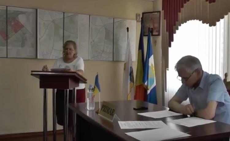 Ședința Consiliului Primăriei com. Stăuceni mun. Chișinău