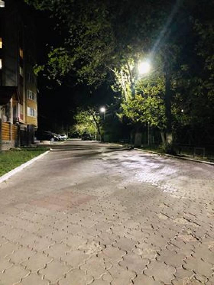 Totalurile primei etape de modernizare a sistemului de iluminat stradal
