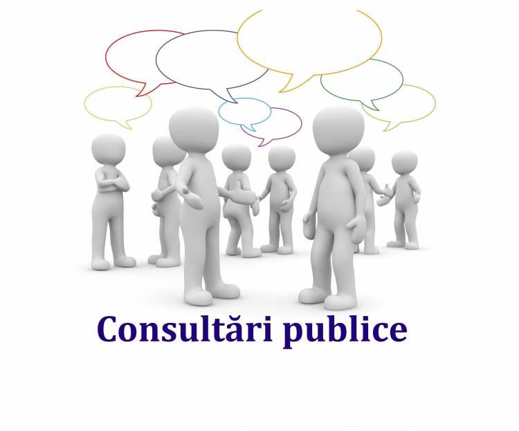 Consultări publice  privind aprobarea Regulamentului locuințelor sociale și de serviciu