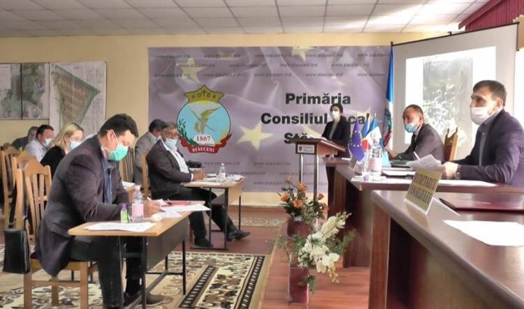 Ședința Consiliului local al comunei Stăuceni