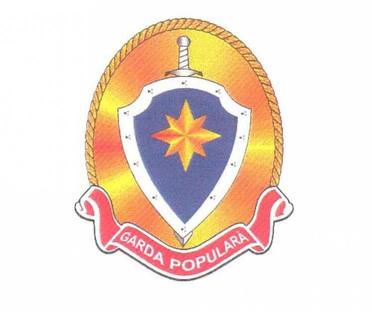 Garda Populară în serviciul localității