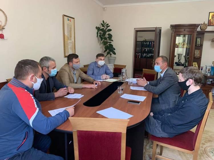 Ședința grupului de inițiativă a Proiectului Parcul Unirii
