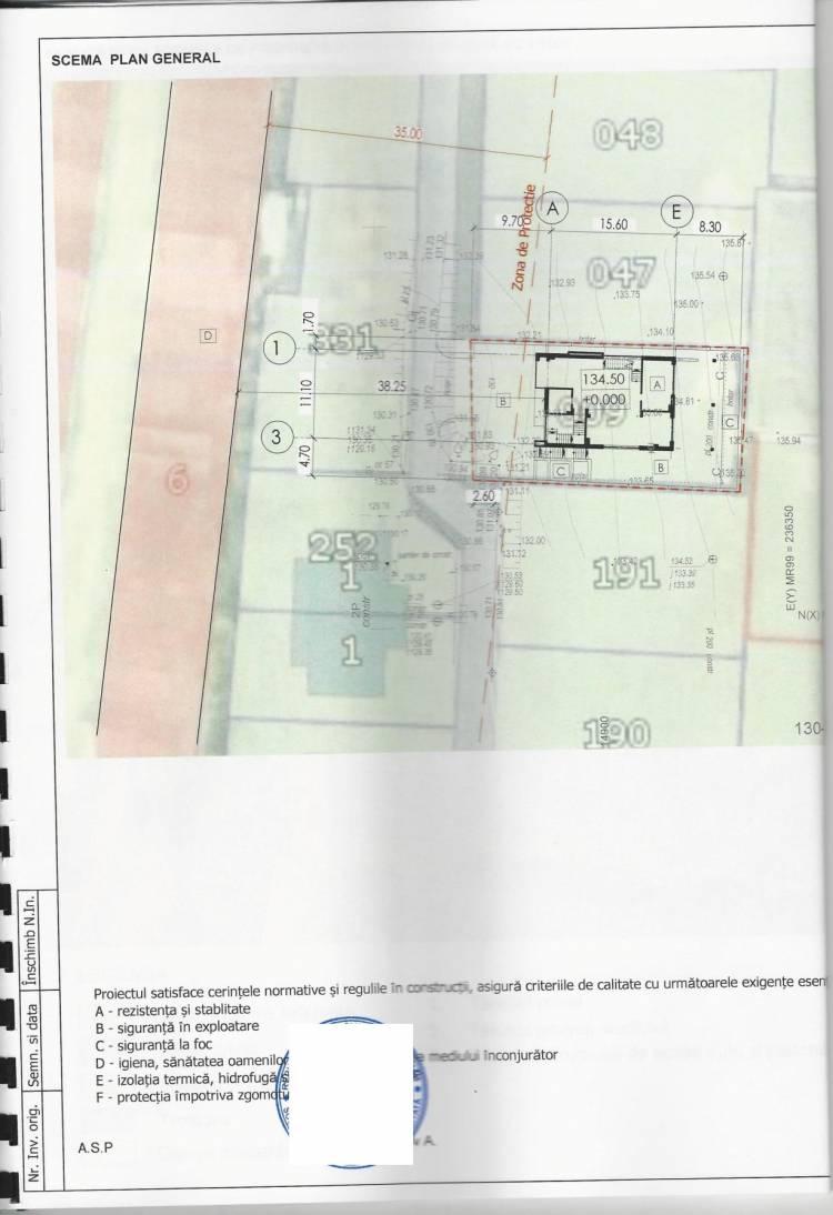 Consultări publice a proiectului de Decizie cu privire la aprobarea PUD privind amenajarea terenului cu numărul cadastral 3153212.009