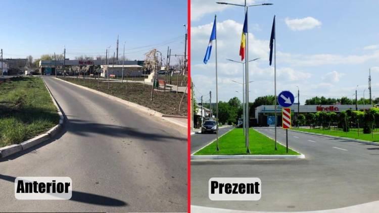 Finalizarea lucrărilor de reconstrucție capitală a intrării/ieșirii în Stăuceni