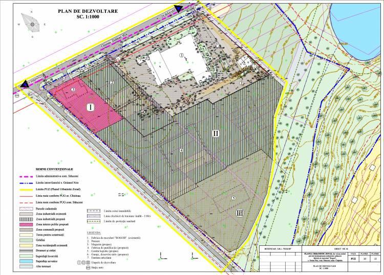 """Consultări publice a PUZ privind sistematizarea teritoriului adiacent fabricii de mezeluri """"ROGOB"""""""