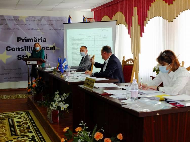 Ședința Consiliului local al comunei Stăuceni din 15.07.2020