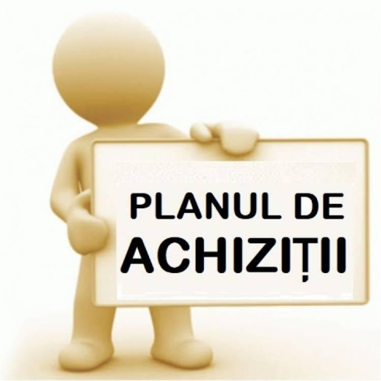 Planificarea contractelor pentru achiziții publice în anul 2020