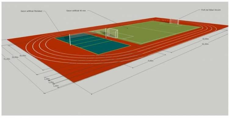 Stăucenenii se vor bucura de un nou spațiu pentru activități sportive, deja în această toamnă