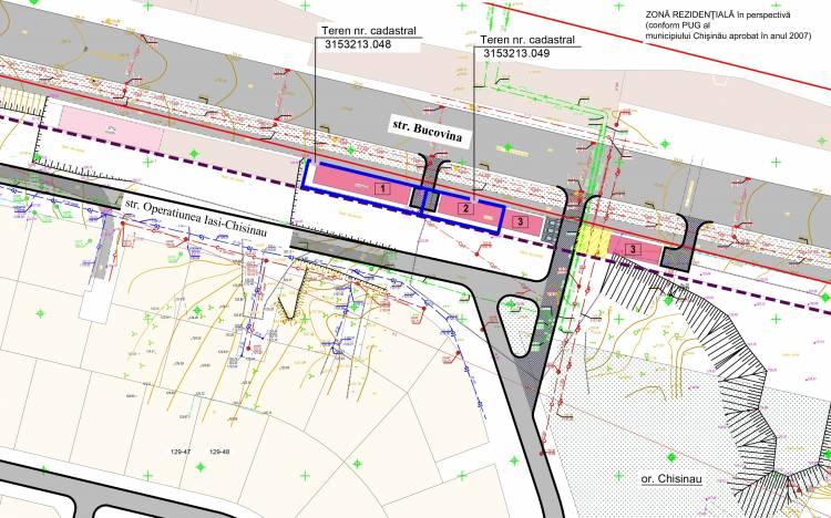 Ponsultarea publică a PUD-ului privind valorificarea a două terenuri din str. Bucovina